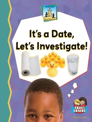 cover image of It's a Date, Let's Investigate!